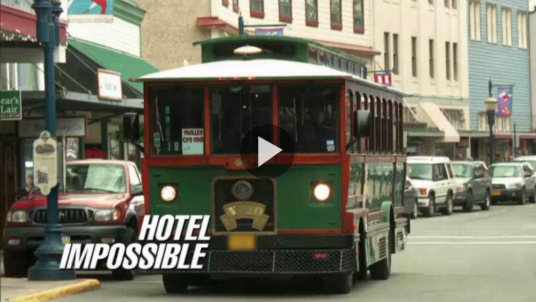 As Seen on TV: Juneau Tours Trolley on Hotel Impossible