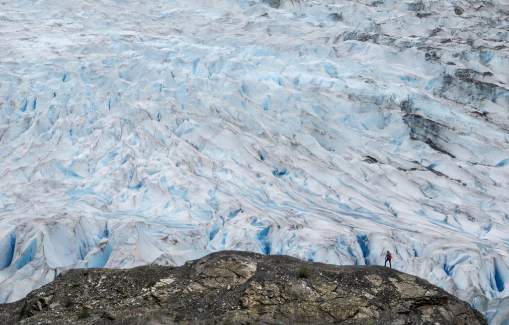 Mendenhall Glacier will do anything but disappoint!